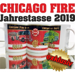Tasse CHICAGO FIRE 2019 - limitiert