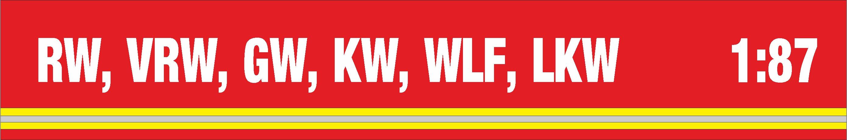 M O D E L L E   -   Rüstwagen (RW)