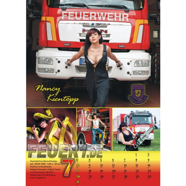 kalender 2016 original deutsche feuerwehrfrauen 5 00. Black Bedroom Furniture Sets. Home Design Ideas