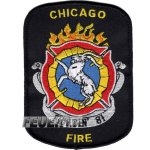 Company Patch: Chicago Fire Fightin`81, Grösse: 8,4...