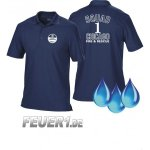 Funktions-Poloshirt navy, Chicago Fire Dept., Squad 1,...