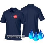 Funktions-Poloshirt navy, Chicago Fire Dept....