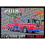 Kalender 2018 New York City Fire Dept. (6.Jahrgang) FDNY...