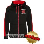 Kapuzensportjacke (zoodie) black/fire red Chicago Fire...