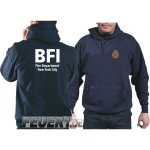Kapuzensweat navy, BFI (Bureau of Fire Investigation/Fire...
