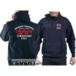Kapuzensweat navy, DRAGON FIGHTERS Chainatown NYC Eng-9...