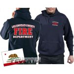 Kapuzensweat navy, Los Angeles County Fire Department in...