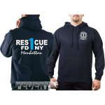 Kapuzensweat navy, Rescue1 (blue) Manhattan
