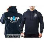 Kapuzensweat navy, Rescue4 (blue) Queens