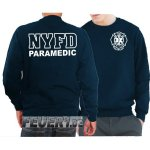 Sweat navy, New York City Fire Dept. PARAMEDIC