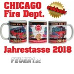 Tasse Chicago Fire Department 2018 - limitiert