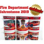 Tasse New York City Fire Department 2019 - limitiert