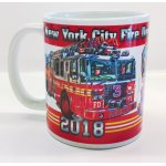 Tasse New York City Fire Department 2018 - limitiert