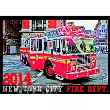 Kalender 2014 New York City Fire Dept.
