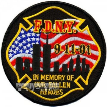 Memorial Patch 9-11-01 In Memory of our fallen heroes...