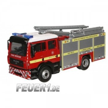 Modell 1:76 MAN TGL Devon and Somerset Fire and Rescue (GB)