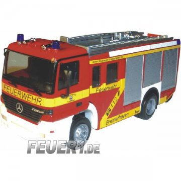 Modell 1:87 MB Actros S HLF 24/20-2 BF Bremerhaven