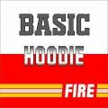 Basic Motiv Hoodie