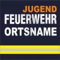maglietta nome del luogo Vigili del fuoco giovanile