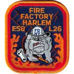 Company Patch: FDNY Engine-58 / Ladder 26 (altes Design)