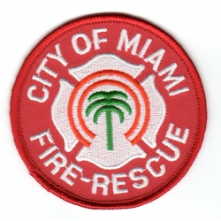 Abzeichen: Miami Fire Rescue (Florida, USA)