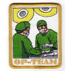 Abzeichen: OP-Team, zu 100 % bestickt