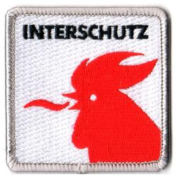 Patch Interschutz (zu 100 % bestickt, 6 x 6 cm)