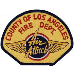 Company Patch: County of Los Angeles (Air attack), 12 x...