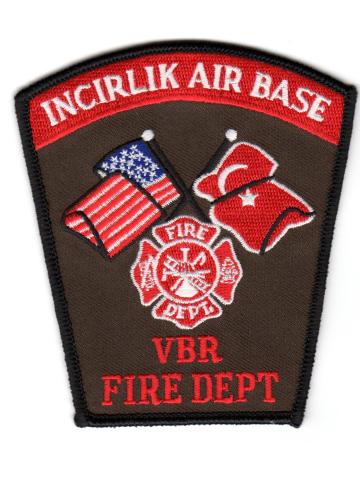 Badge Incirlik (Türkei) Air Base Fire Dept.