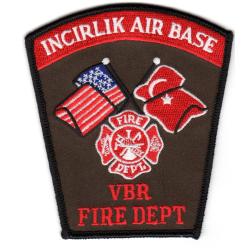 Patch Incirlik (Türkei) Air Base Fire Dept.