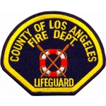 Distintivo County of Los Angeles Lifeguard