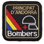 Patch Principat d`Andorra Bombers