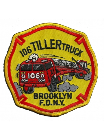 Company Patch: FDNY Ladder-106
