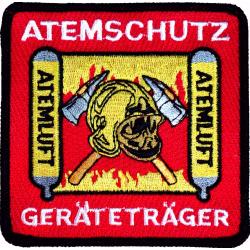 Insignia Atemschutzgeräteträger, 9 x 9 cm