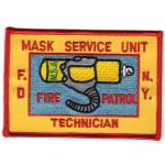 Company Patch: Fire Dept. New York City Mask Service Unit
