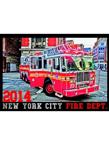 Kalender 2014 New York City Fire Dept. (2. Jahrgang) - limitiert