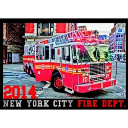 Kalender 2014 New York City Fire Dept. (2. Jahrgang) -...