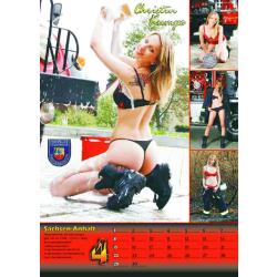 Kalender 2012 Feuerwehr-Frauen - das Original (12. Jahrgang)