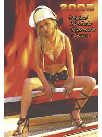 Kalender 2005 Feuerwehr-Frauen - das Original (5. Jahrgang)