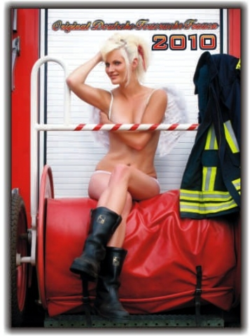 Kalender 2010 Feuerwehr-Frauen - das Original (10. Jahrgang)