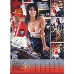 Kalender 2013 Feuerwehr-Frauen - das Original (13. Jahrgang)