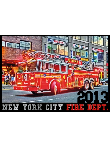 Kalender 2013 New York City Fire Dept. (Erstausgabe) - limitiert