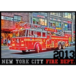 Kalender 2013 New York City Fire Dept. FDNY (Erstausgabe)...