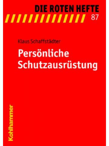 """Libro: rojo Heft 87 """"Persönliche Schutzausrüstung"""""""