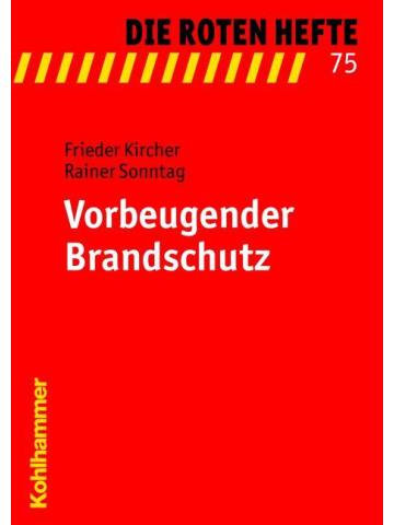 "Book: red Heft 75 ""Vorbeugender Brandschutz"""