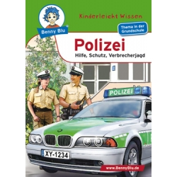"""Book: Kinderleicht Wissen """"Polizei"""", A6"""