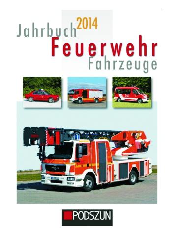 JahrLibro Feuerwehr Fahrzeuge 2014