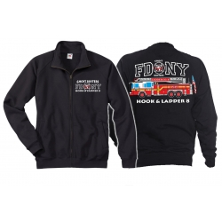 Sweat jacket navy, FDNY Ladder Truck 8 - Ghost Busters,...