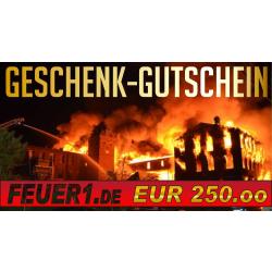 Geschenkgutschein im Wert von EUR 250,00