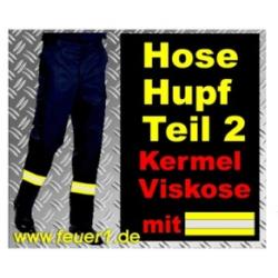 Feuerwehrbundhose HuPF 2 aus Kermel mit Reflex (Novotex)